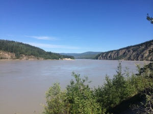 View of crossing from Dawson City.